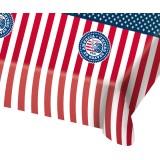 Tafelkleed Amerikaanse vlag usa party thema feestartikelen