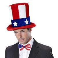 hoed amerikaanse vlag usa hoge hoed