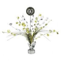 Tafeldecoratie Happy Birthday sparkling 60