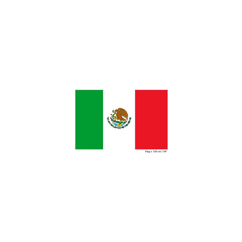 mexicaanse vlag kopen ? 90x150 cm | jokershop feestwinkel