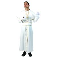 Paus kostuum Fransiscus carnavalspak
