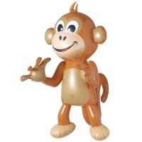 Opblaasbare aap 50cm