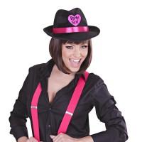 Gangsterhoed Pink Partygirl