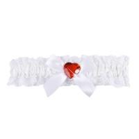 Kousenband Verpleegster wit rood hart
