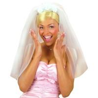 Bruidssluier Diadeem