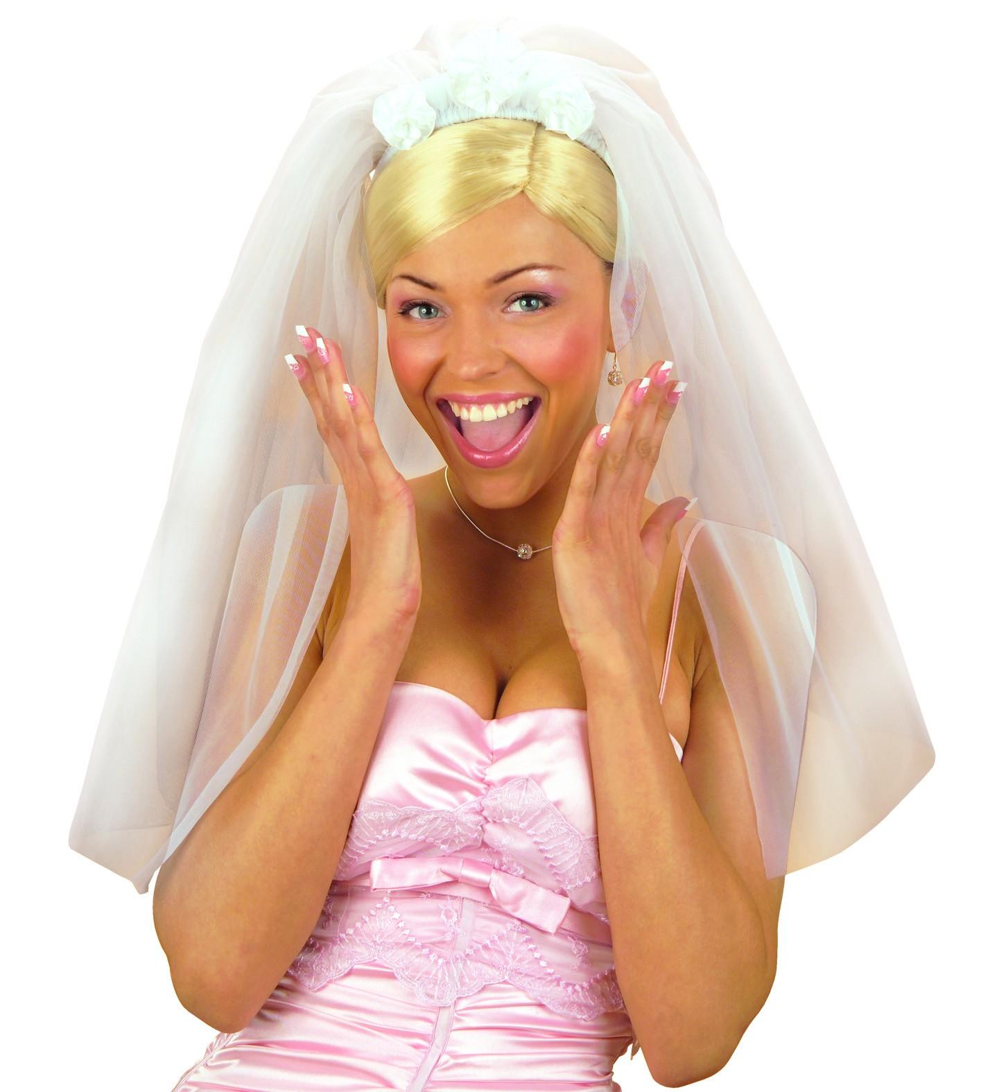 Bruid Sluier Haarband Vrijgezellen Tiara Diadeem