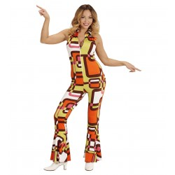 Disco jumpsuit dames disco outfit Tubes