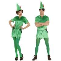 Peter Pan kostuum volwassenen unisex