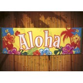 Hawaii decoratie banner vlag thema versiering