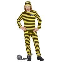 Dalton pak kind gevangene kostuum