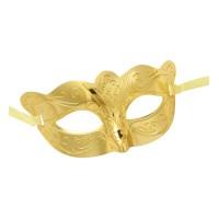 Venetiaans oogmasker goud metallic