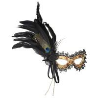 Venetiaans Masker Pauw Veer