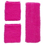 fluo zweetband neon accessoires zweetbandjes