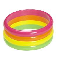 Armbandjes neon set 4st