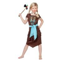 """Indianen jurkje kind """"Kiona"""" carnavalspakje"""