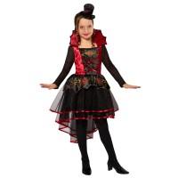 Vampier jurk kind Halloween kostuum
