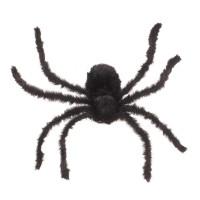 Zwarte Harige Spin 75cm