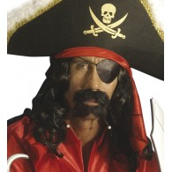 Piraten Ooglapje Satijn