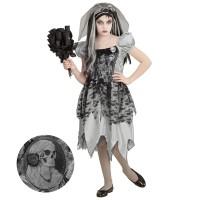 Zombie bruid kostuum Halloween pak kind