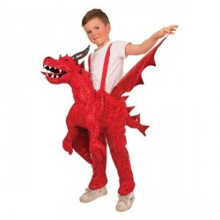Instap kostuum draak Drakenpak kind