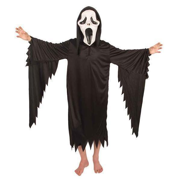 Halloween Kostuum Magere Hein.Kostuum Scream Magere Hein Kids Jokershop Verkleedwinkel