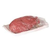 Uitgerukte bloederig hart in slagers bakje