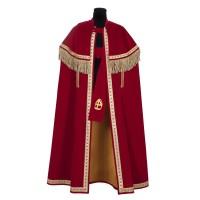 TV Sinterklaas kostuum Stefan rood