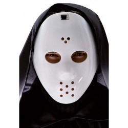 Jason hockey masker Halloween wit pvc