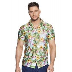 Hawaii shirt Paradise Heren Hawaii hemd M/L