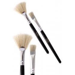 Glitter tattoo brush set
