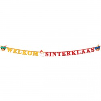 Letterslinger welkom Sinterklaas 2,3 meter