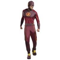 The Flash kostuum heren Superhelden pak