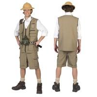 Safari Kostuum heren Jungle camouflage pak