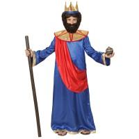 3 Koningen kostuum kind Balthazar blauw
