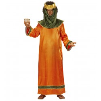 3 Koningen kostuum heren Caspar oranje