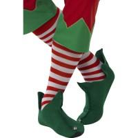 Gestreepte sokken rood/wit kniesokken