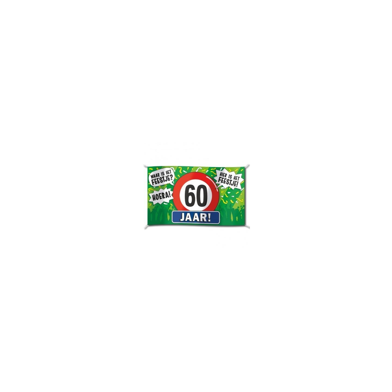 Verrassend Verjaardag spandoek vlag kopen ?| Jokershop.be - Feestartikelen ZF-76