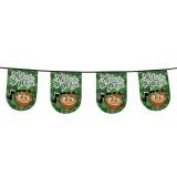 Vlaggenlijn St Patrick's day versiering decoratie