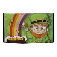 Vlag St Patrick's Day versiering decoratie