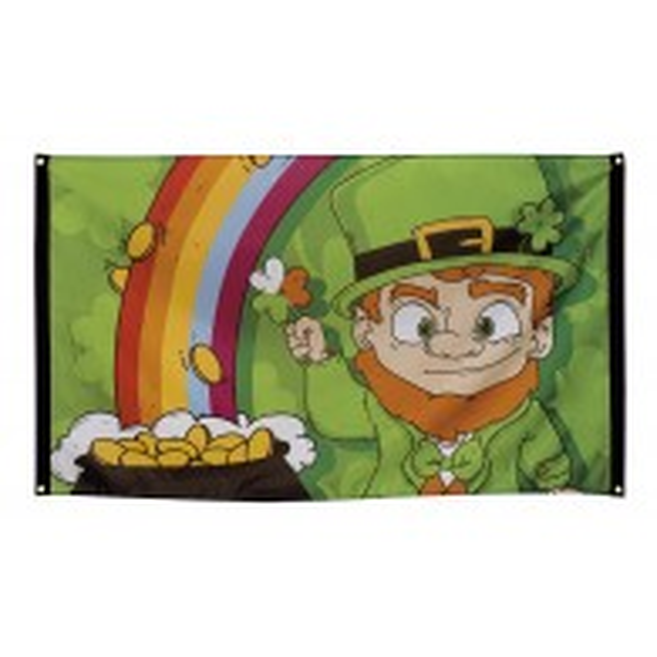 Vlag St Patrick's Day 90x150 cm