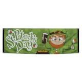 Vlag banner St Patrick's Day versiering