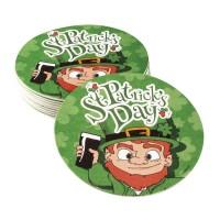 St Patrick's Day bierviltjes onderzetters versiering