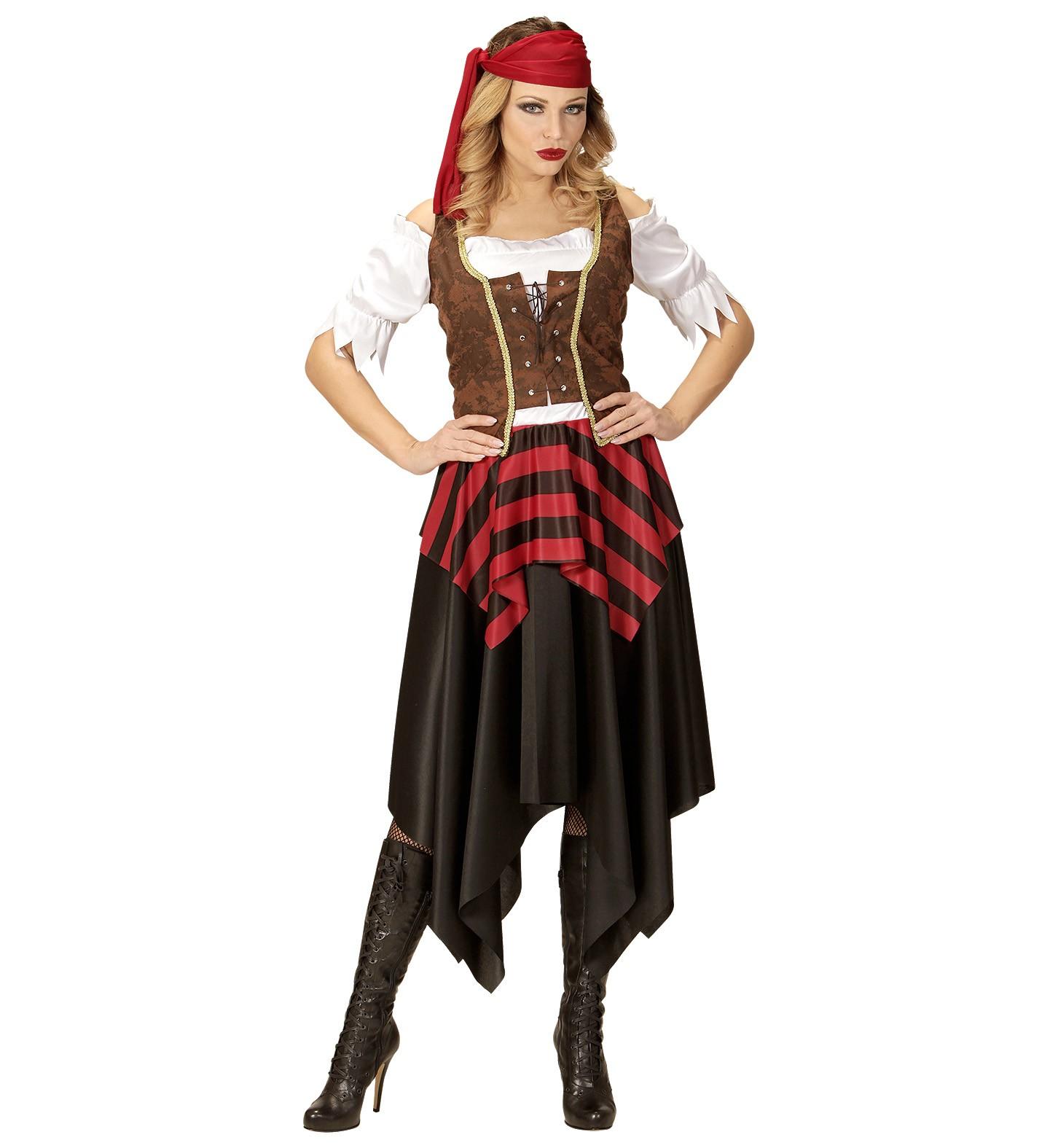 kostuum piraat dames