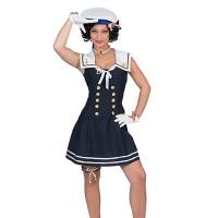 Matrozen jurkje dames Matroos kostuum