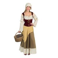 Breugel kostuum dames Middeleeuwse boerin