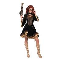 Steampunk jurk dames kostuum