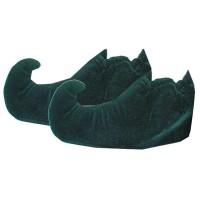 Elfen schoenen covers voor kinderen groen