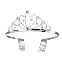Prinsessen kroontje royal queen metaal
