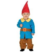 Kabouter pakje baby carnaval kostuum