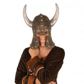 viking helm carnaval latex